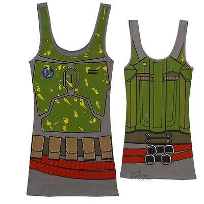 Fett Bounty Hunter Tunic Tank Dress (Boba Fett Kleid)
