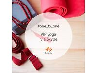 One to One V.I.P. yoga via Skype.Yoga based on correct approach to the spine.Certified instructors