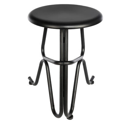 Metal Black Counter Stools - High-quality Bar Stools Seat Metal Counter Height Chair Black