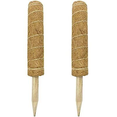 Iceyyyy 2 Pack 16 Inch Coir Totem Pole Plant Labels, Moss Stick For Support &