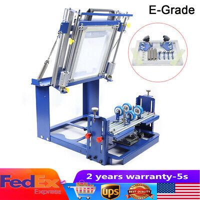 Curved Screen Printer Kit Printing Machine Bottle Heat Printing Machine
