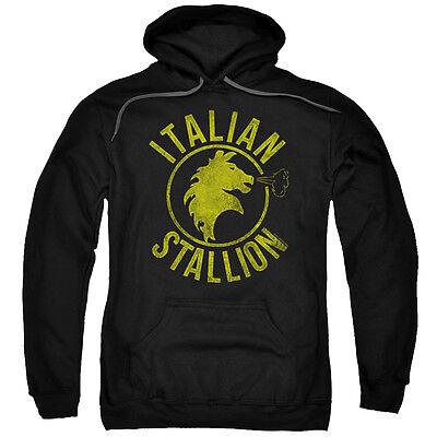 ROCKY ITALIAN STALLION HORSE Licensed Pullover Hooded Sweatshirt Hoodie SM-5XL ()
