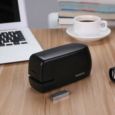 Portable Electric Auto Stapler Binding Stationery Device For School Home Office