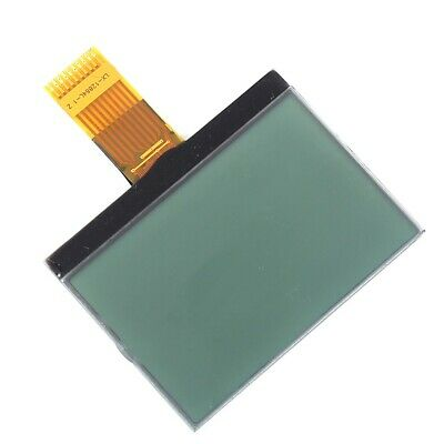 Lcd Display Module 12864 12864cog Dot Matrix Graphic Yellow On Green Dc 3.3 V