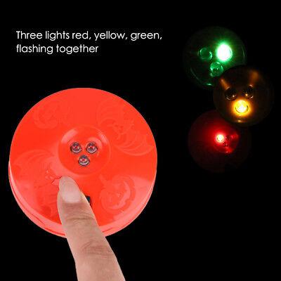 Pumpkin Strobe Light Effect - 3 Fast Flashing LED's Jack O Lantern, - Halloween 3 Flashing Pumpkin