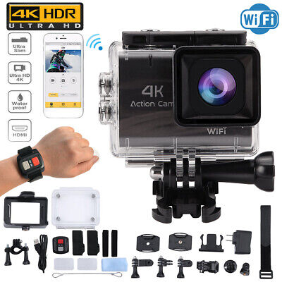 4K Action Camera 1.8inch Screen Ultra HD 16MP Camcorder + Remote Control BP