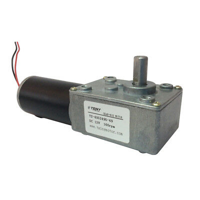 Electric Dc 12 Volt Motor Speed Reducer 12v 160rpm Metal Geared Reduction Motor