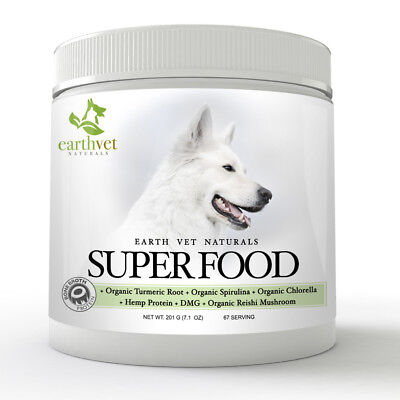 Earth Vet Superfood Formula for Dogs   Contains Bone Broth Protein