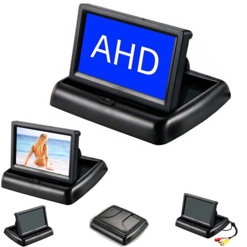 "All in 1 4.3"" Fold mini CVBS AHD signal camera HD Display screen monitor tester"