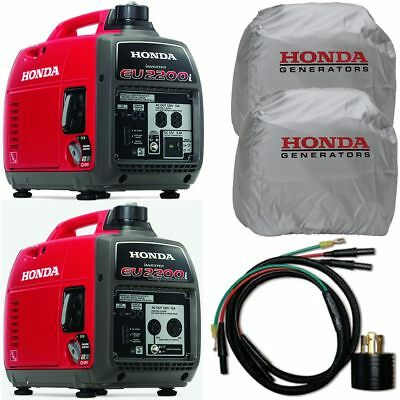 Honda Eu2200i Eu2200i Inverter Companion Kit With Parallel Cables Covers