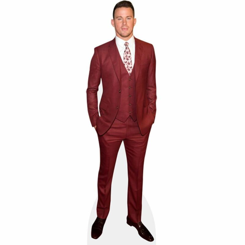 Channing Tatum (Red Suit) Life Size Cutout