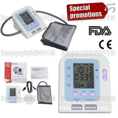 Contec08c Digital Vet Blood Pressure Monitor25-35cm Cuffhuman Carefast Ship