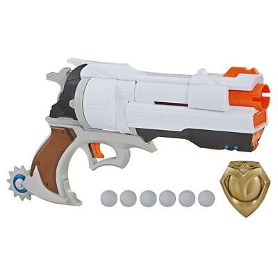 Overwatch McCree Nerf Rival Blaster w/Die Cast Badge and 6 Nerf Rival Rounds