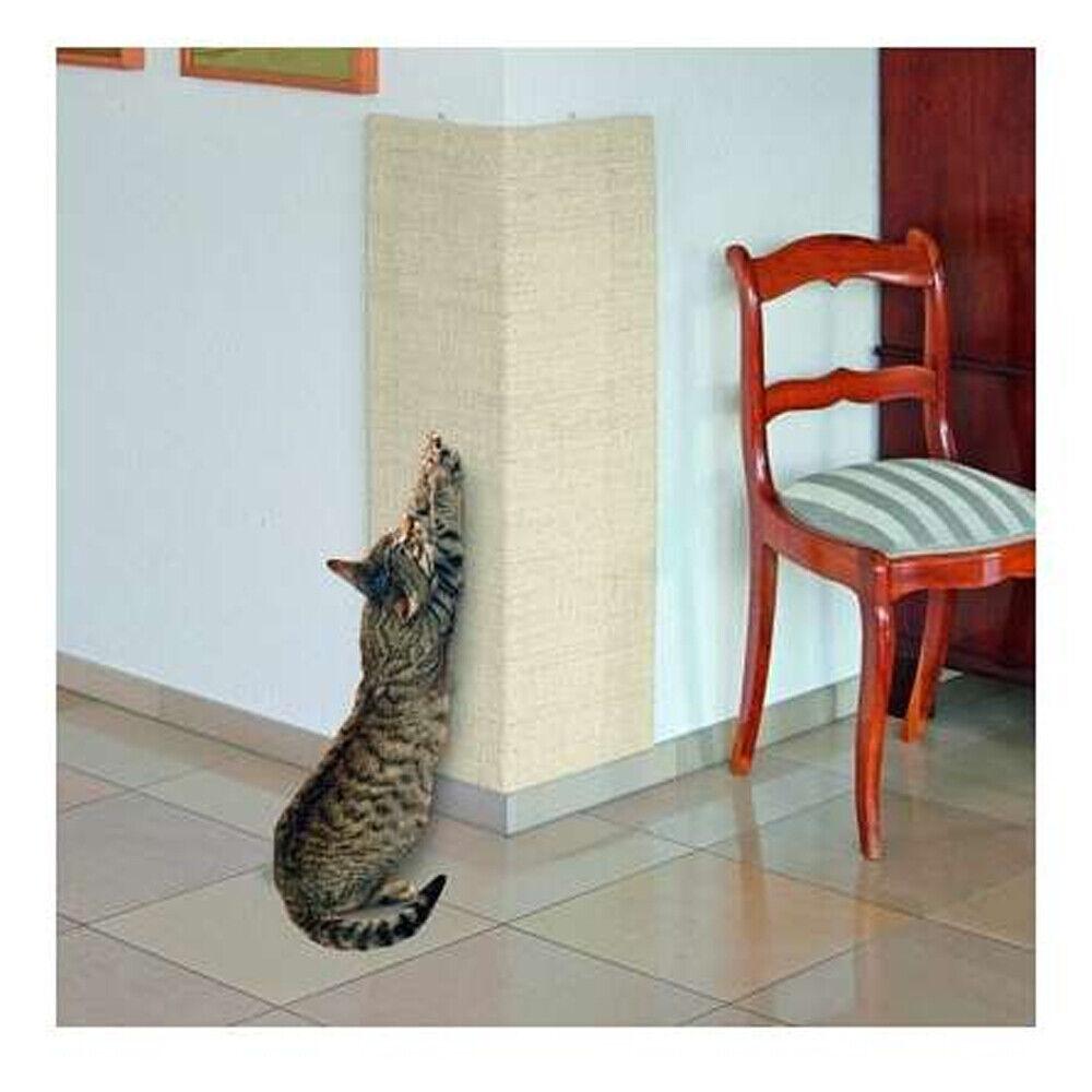 Kratzbrett für Innen + Außenecken für Wandecke Kratzmatte Krallen abwetzen Katze