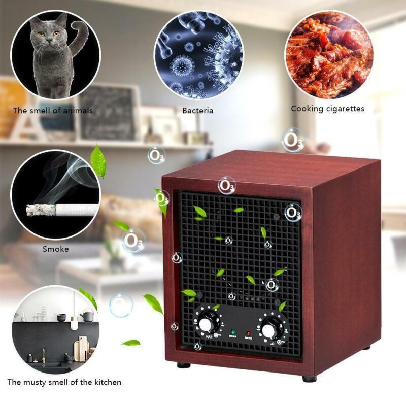 Zokop 5-in-1 Air Purifier Ozone Generator Ionizer Smoke Remover Cleaner Home