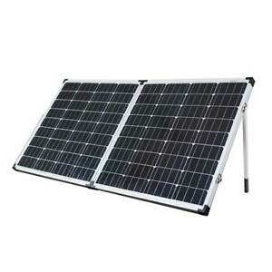 12V 160W Solar Folding Panel Kit Caravan Boat Camping Power Mono North Melbourne Melbourne City Preview