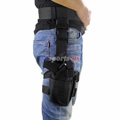 Universal Drop Leg Holster Tactical Right Hand Thigh Handgun Holster Adjustable Drop Leg Thigh Holster