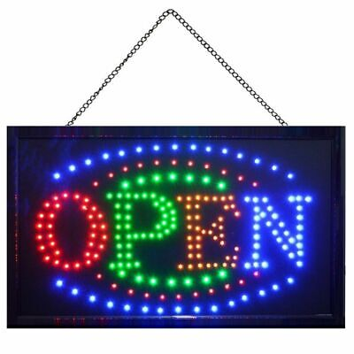 Large Ultra Bright Animated Open Store Business Sign Led Neon Light 21 X 13