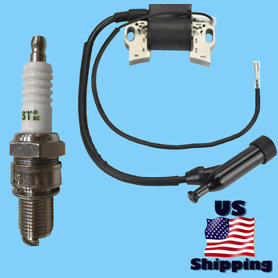 Pacific Hydrostar Ignition Coil Spark Plug For 97553 3200psi Pressure Washer