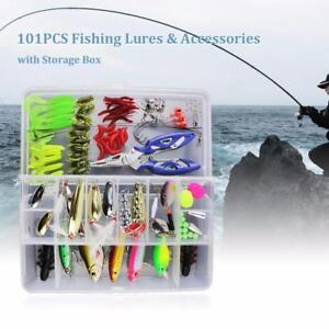 73/101/132pcs Fishing Lures Tresure Box Huge Value (Low Price and Free Shipping ) Low Stock order now