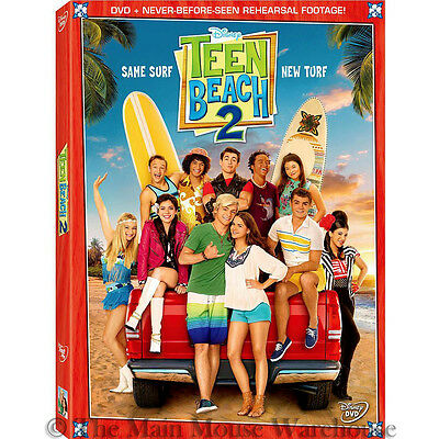 Disney Channel Teenager Biker Surfer Musical Surf Sequel Teen Beach Movie 2 DVD - Teen Beach Biker