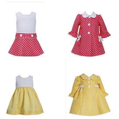 Neu Bonnie Jean Baby Mädchen Ostern Frühlingskleid Mantel Set (Baby Ostern Outfits)