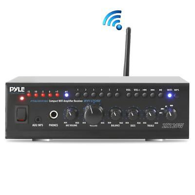 240W COMPACT WiFi STREAMING BLUETOOTH HOME AMPLIFIER AUDIO RECEIVER SOUND SYSTEM