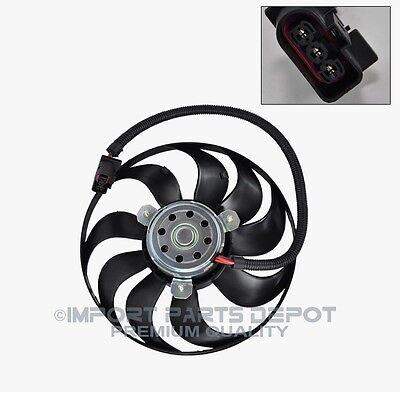Auxiliary Cooling Fan Motor Right VW Volkswagen Beetle Golf Jetta New