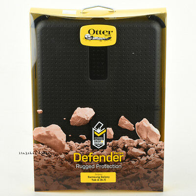 "Otterbox Defender Rugged Case Cover For Samsung Galaxy Tab A 9.7"" (Black) NEW"
