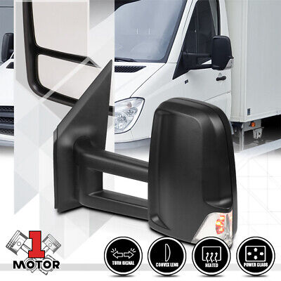 [Left] Driver Side Power+Heated Mirror w/LED Signal for 07-14 Sprinter 2500/3500