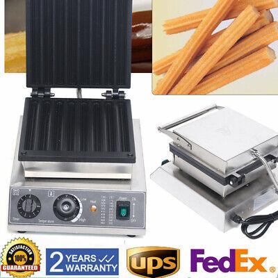 Commercial Empanada Maker Machine Waffle Maker Machine Non-stick 8 Churro Maker