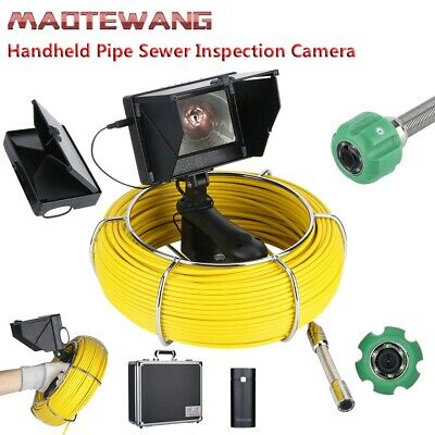 20m 4.3lcd 22mm Handheld Industrial Pipe Sewer Inspection Video Camera 1000 Tvl