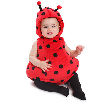 Ladybug Baby Costume By Dress Up America (Baby Ups Costume)