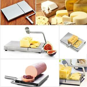 Stainless Steel Cheese Slicer Butter Cake Cutting Cutter Kitchen Baking Tool