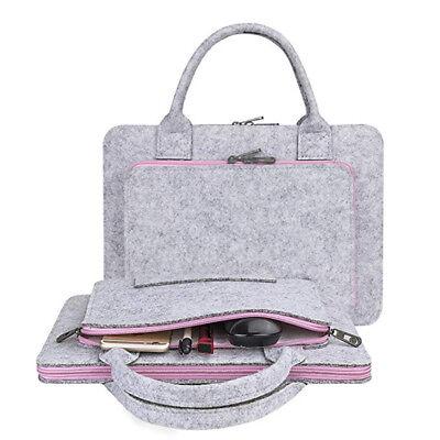0e9a081ca76d 17.3 Inch Felt Laptop Sleeve Notebook Computer Case Skin Carrying Case Bags