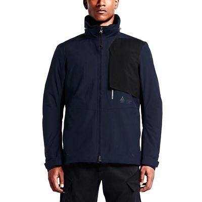 Nike Nikelab ACG 2 In 1 System Gore-Tex Navy Blue Jacket 816726-451 $650 Nike Navy Blue Jacket