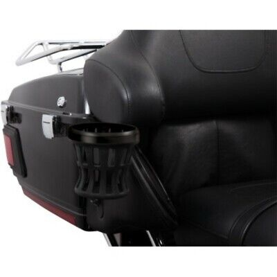 Ciro Drink Cup Holder 50622 Black for Passenger Harley Ultra