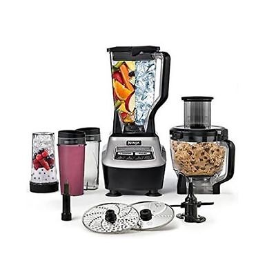 BL773CO-RB Blender Food Processor Ninja Mega Kitchen Kit 1500W 2hp 3 Speed Pulse (Blender 2hp)