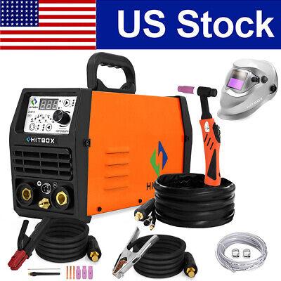 Tig Welder 200a Pluse Hf110v 220v Dual Voltage Stick Arc Tig Welding Machine