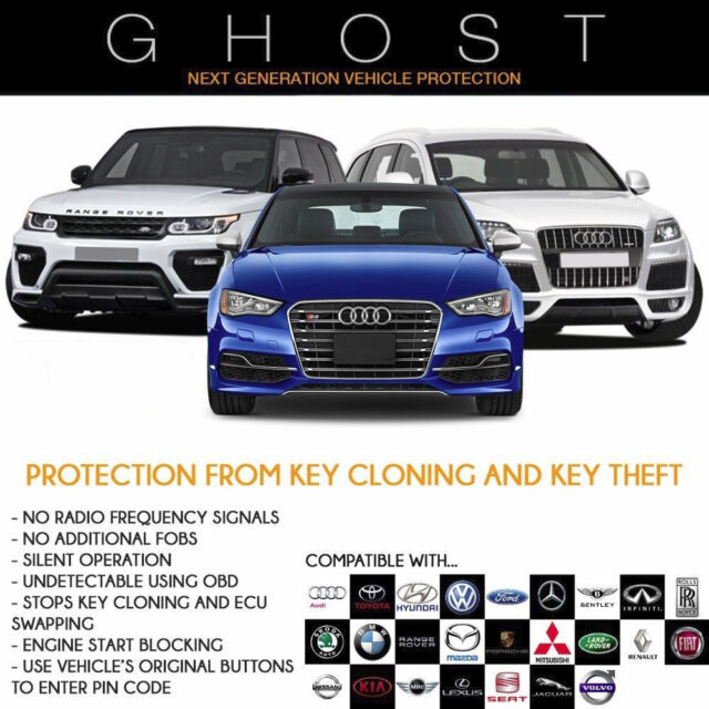 Autowatch Ghost immobiliser Car Van Key Clone Theft Protection for