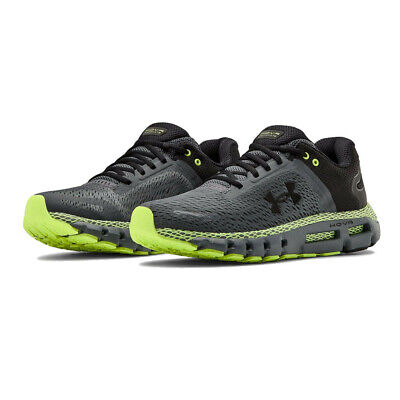 Under Armour Mens HOVR Infinite 2 Running Shoes Trainers Sneakers - Green Grey