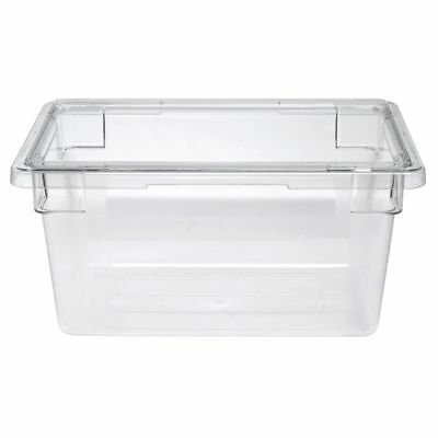 Cambro Food Storage Container 4 34 Gal Clear Plastic - 18l X 12w X 9d