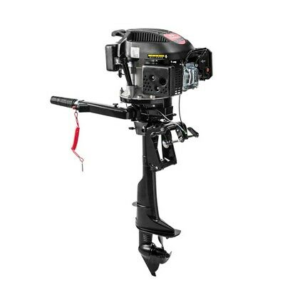 6 Hp 4 Stroke Hangkai Outboard Motor Boat Engine Air Cooling Electronic Ignition