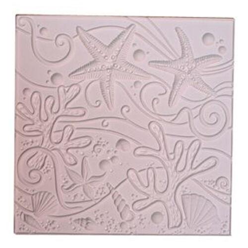 Sea Life Texture Mold - Creative Paradise Glass Fusing Mold