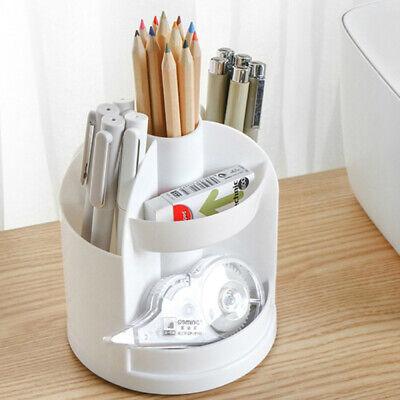 Pen Organizer Holder Caddy Office Pencil Desktop Storage Pencilpen Holder White