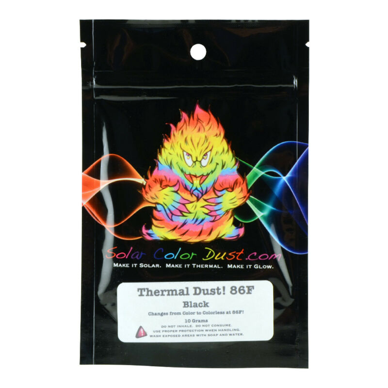 SCD Thermal Dust 86F Heat Sensitive Black 10g