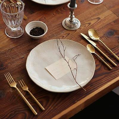 Gold Dinner Knife - Dinner Spoon Fork Knife Tea Spoons Cake Forks Gold Color Dessert Cafe Titanium