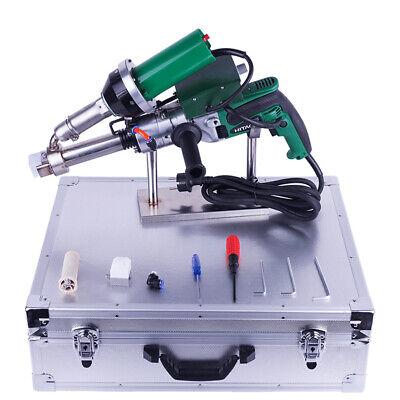 Lst600a Hand Extruder Hot Air Plastic Extrusion Welding Machine Heat Welder 220v