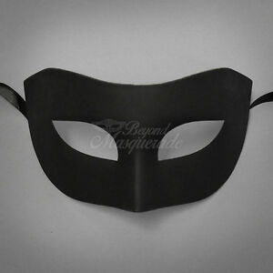 Black Simple u0026 Elegant Masquerade For Men Mask Costume Prom Party Mask & Masquerade Costume Men | eBay