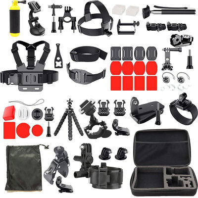 Accessories Kit Set Mount for Gopro Go pro Hero6 5 4 assembly 3+ 3 2/xiaomi yi 4k